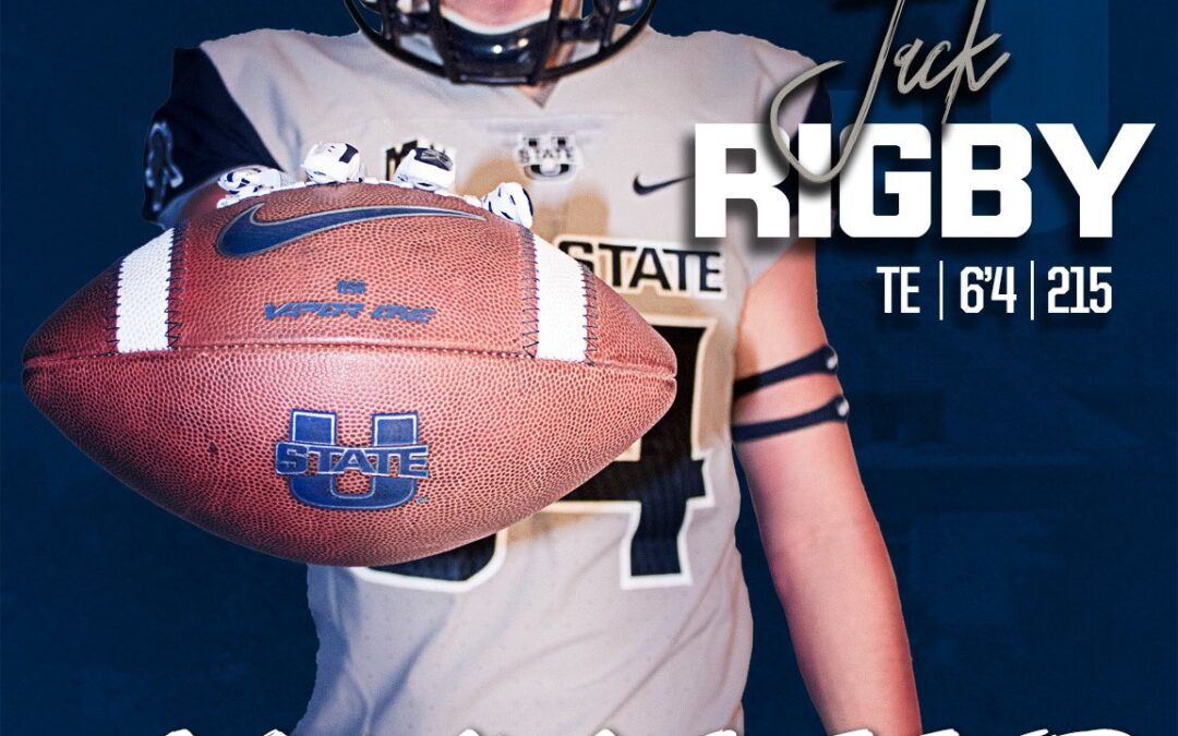 2021 Utah State Signing Day Introduction: TE Jack Rigby